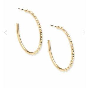 Kendra Scott - Veronica Hoop Earrings In Gold